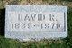 Profile photo:  David R Stewart, Sr