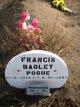 Francis <I>Bagley</I> Pohue