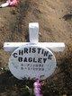 Profile photo:  Christine Bagley