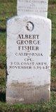 "Albert George "" "" <I> </I> Fisher,"