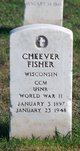 """Cheever """" """" <I> </I> Fisher,"""
