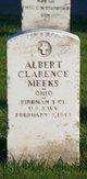 Profile photo:  Albert Clarence Meeks