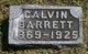 Calvin Barrett
