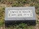 Profile photo:  Anna B. Mauk