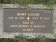 Mary Louise <I>Stewart</I> Morton