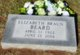 Profile photo:  Elizabeth Lorey <I>Braun</I> Beard