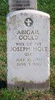Profile photo:  Abigail Gould Holt
