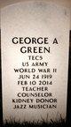 George A Green