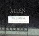 """Profile photo:  William A """"Bill"""" Allen"""