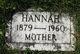 Hannah Elise <I>Lee</I> Anderson