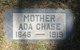 Profile photo:  Ada <I>Shook</I> Chase