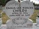 Emma Lee <I>Barger</I> Childs
