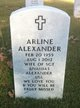 Profile photo:  Arline Alexander
