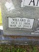 Profile photo:  Willard D Anderson