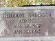 Profile photo:  Theodore Anderson Adkins