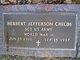 Sgt Herbert Jefferson Childs