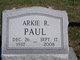 Arkie R. Paul