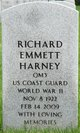 Profile photo:  Richard Emmett Harney
