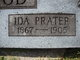 Ida Belle <I>Prater</I> Wood