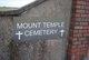 Mount Temple Cemetery