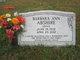 Barbara Ann <I>Grove</I> Abshire