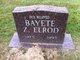 Profile photo:  Bayete Z Elrod