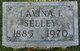 Profile photo:  Lavina I <I>Seeley</I> Ackert