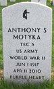 Profile photo:  Anthony S Motyka