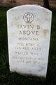 Irvin B Above