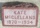 Kate <I>Heinzmann</I> McClelland