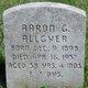 Profile photo:  Aaron G. Allgyer