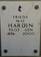 Profile photo:  Frieda Mae <I>Green</I> Hardin