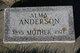 Alma <I>Kirkeby</I> Anderson