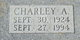 "Charles Albert ""Charley"" Dohle"