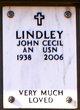 Profile photo:  John Cecil Lindley