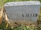Profile photo:  Bessie Arlyne Allen