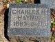 Profile photo:  Charles Haynie