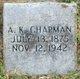 Profile photo:  A. K. Chapman