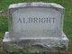 "Profile photo:  Annie Grace ""Grace"" <I>Eppley</I> Albright"