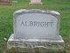 """Profile photo:  Anna B. """"Annie"""" <I>Stouffer</I> Albright"""