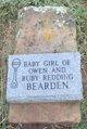 Profile photo:  Baby Girl Bearden
