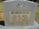 Eva Mae <I>Moss</I> Robinson