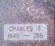 Charles Franklin James