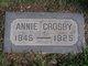 Profile photo:  Annie Crosby