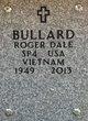 Profile photo:  Roger Dale Bullard