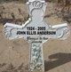 Profile photo:  John Ellis Anderson