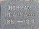 Profile photo:  Herman Klaumann