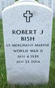 "Profile photo:  Robert J. ""Bob"" Bish"