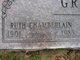 Ruth <I>Chamberlain</I> Griggs