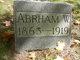 Profile photo:  Abraham Wait Ottman Beemer